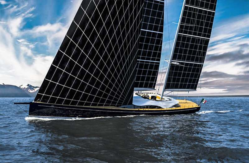 Solar powered Sailing Yacht (3)