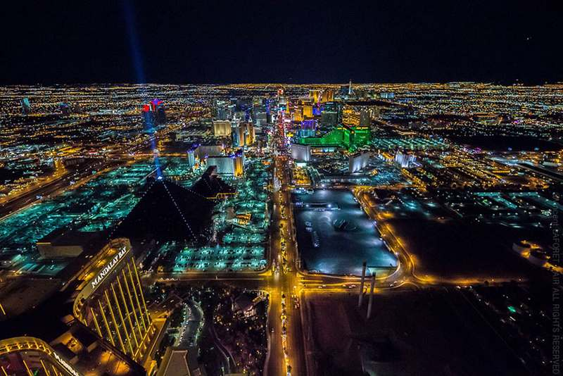 Las Vegas at night, from 10,800 (7)