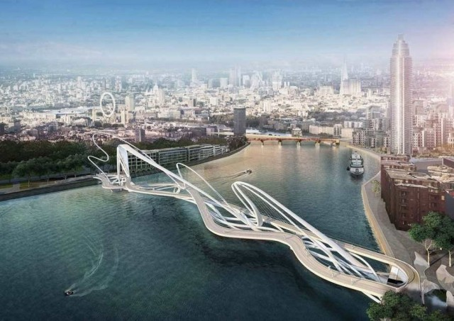 London's Battersea Bridge Competition is a Symbol of the City