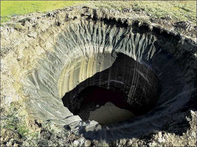 mysterious craters found in Siberia