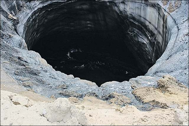 Mysterious craters found in Siberia 2