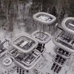 Russia's Tesla Tower by drone