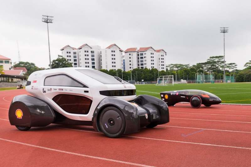 3D-printed electric car