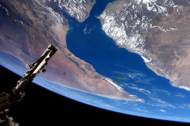 Gulf of Aden and Horn of Africa from ISS