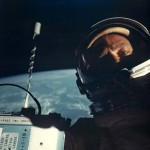The First Selfie in Space