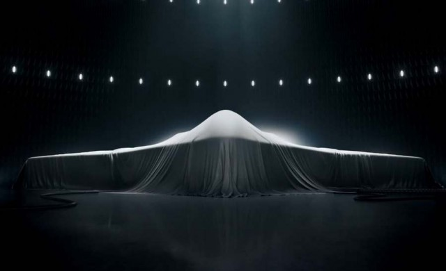 Northrop Grumman Top Secret Stealth Bomber