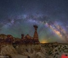 The Milky Way with Arizona Toadstools