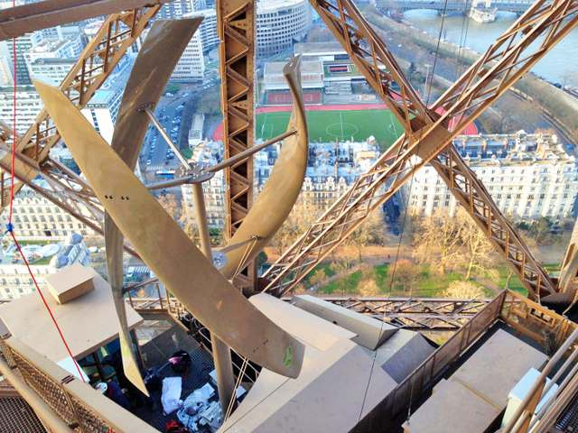 Wind Turbines on Eiffel Tower (5)