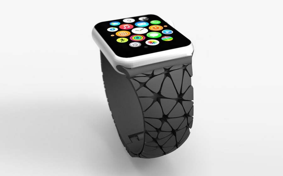 3D Printed Apple Watch Band (4)