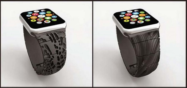 3D Printed Apple Watch Band (3)