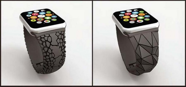 3D Printed Apple Watch Band (2)