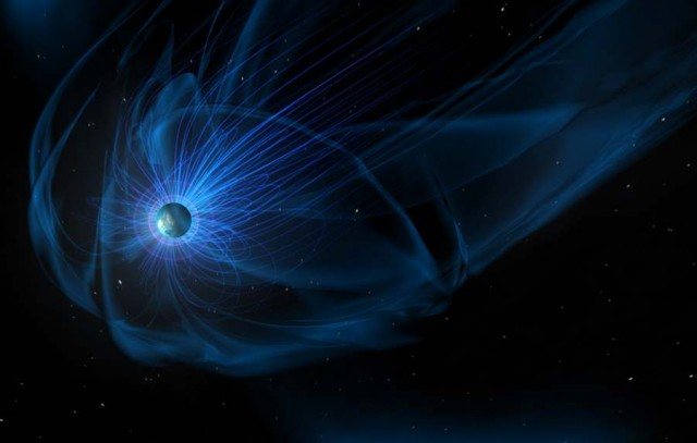 Magnetosphere, the giant magnetic bubble surrounds our planet
