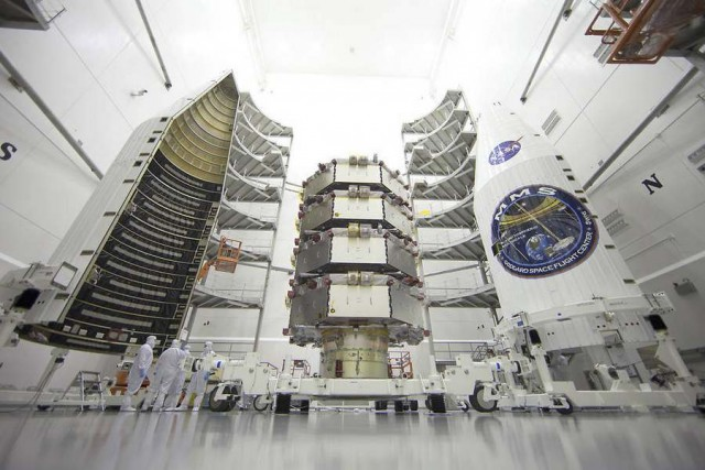 All four MMS observatories