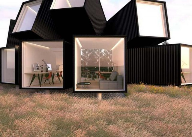 Studio made by shipping containers (5)