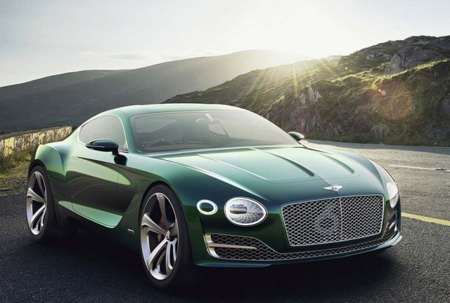 Bentley EXP 10 Speed 6 two seater sportscar