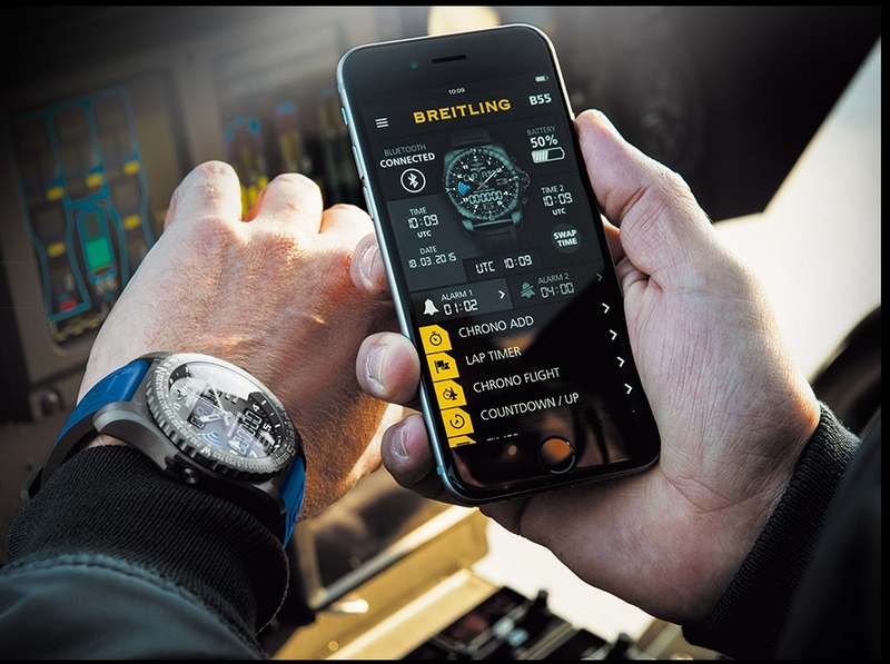Breitling B55 'Connected Chronograph' (4)