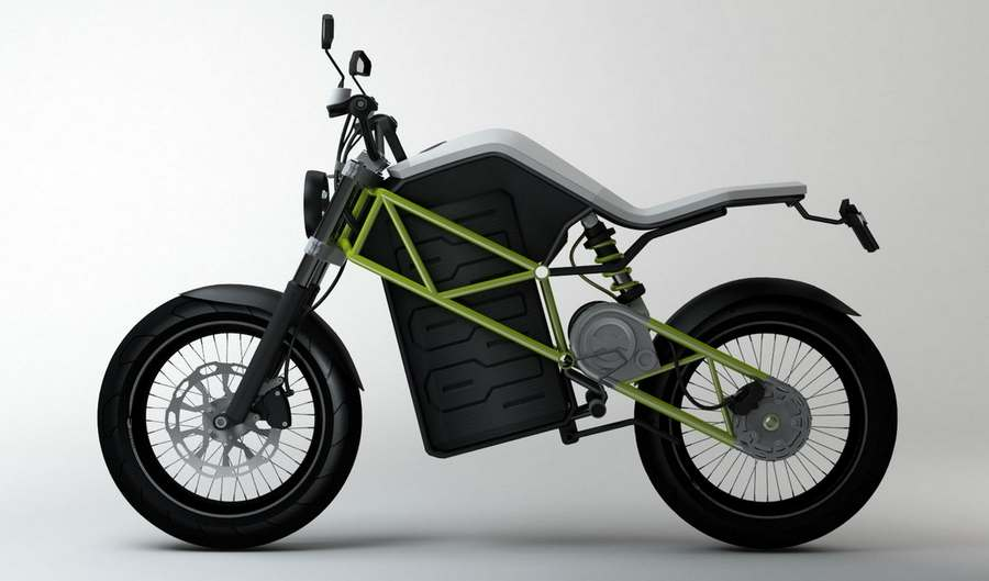 C 3 Electric Motorcycle By Stefan Toth Wordlesstech