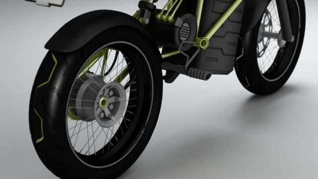 C#3 Electric Motorcycle (3)
