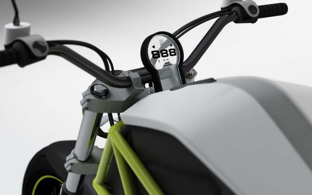C#3 Electric Motorcycle (2)
