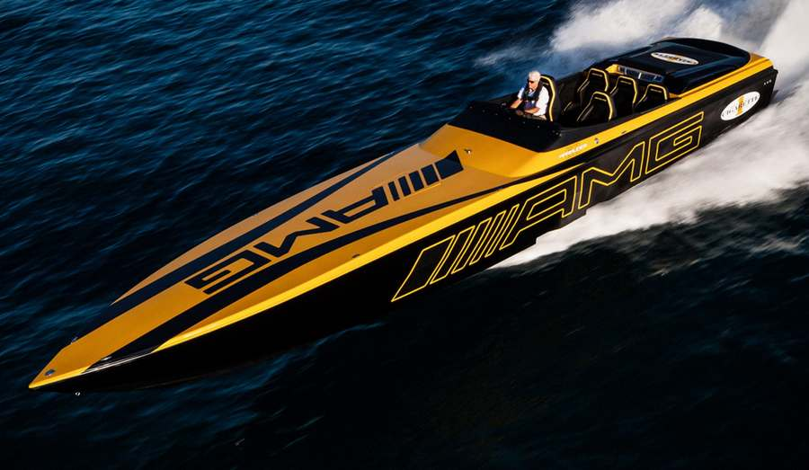 The amazing Cigarette 50′ Marauder GT S is the latest collaboration ...