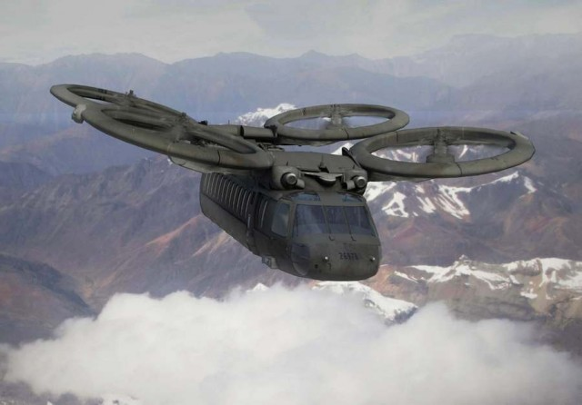 The future of military vertical lift aviation