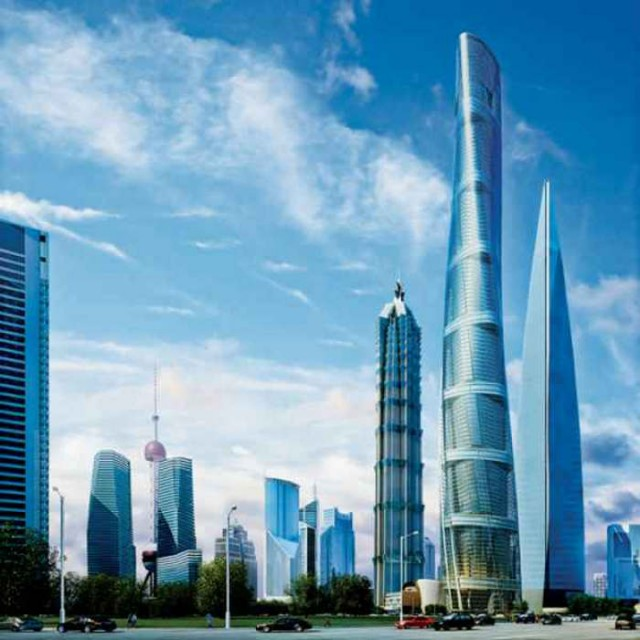 Shanghai Tower world's second-Tallest Building