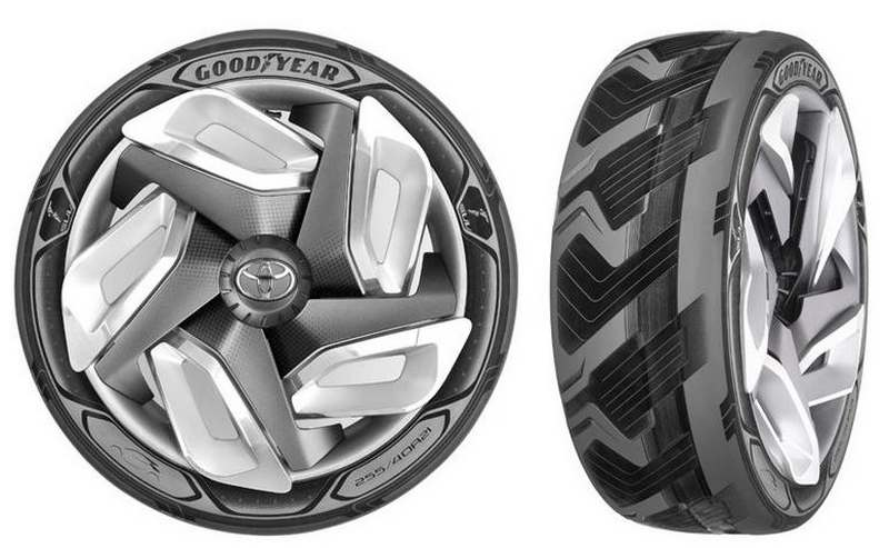 Goodyear concept BH03 tire