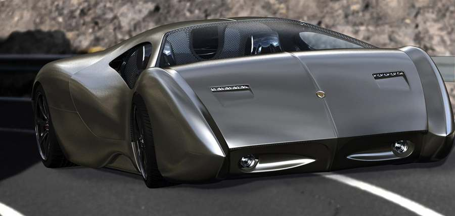 LM2 Streamliner hypercar by Lyons Motor Car (5)
