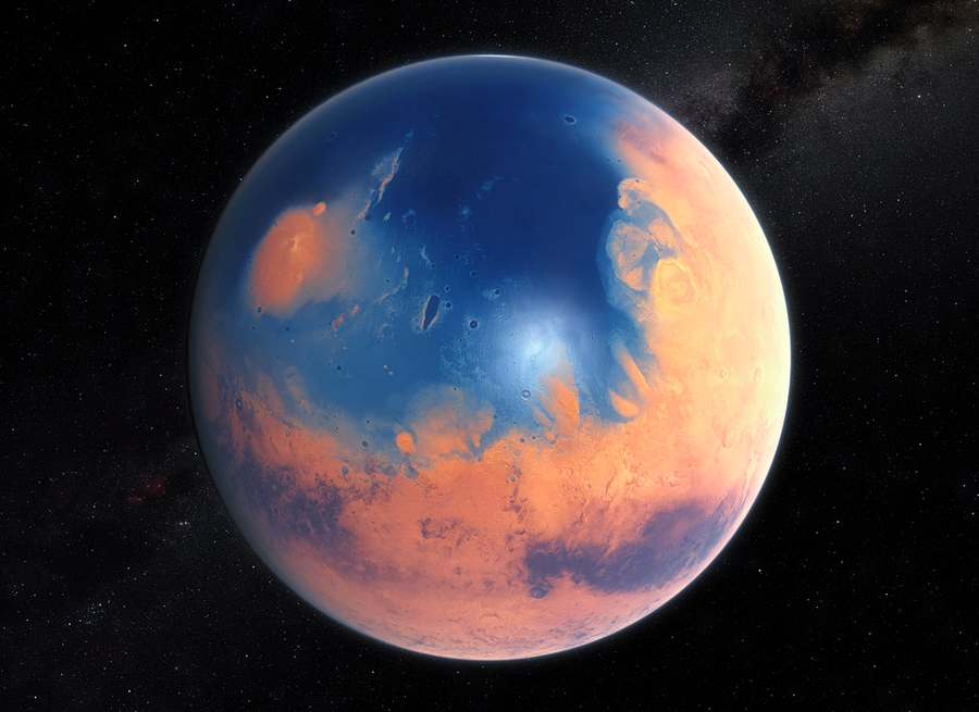 Mars had Ocean's worth of Water