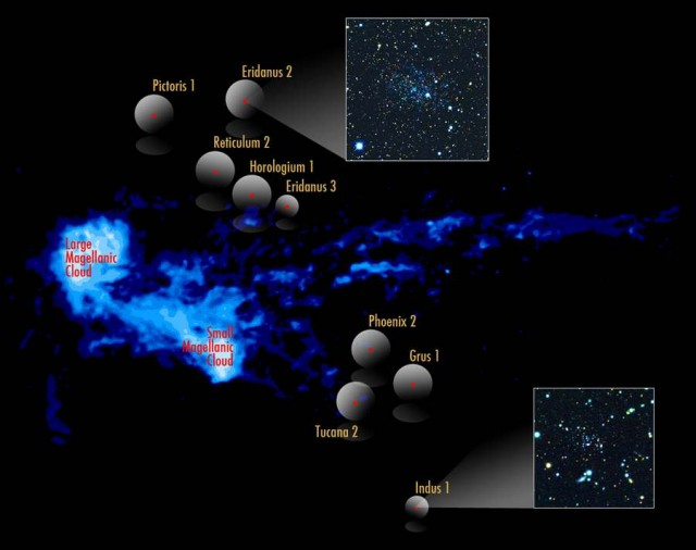Dwarf galaxies orbiting around the Milky Way (2)