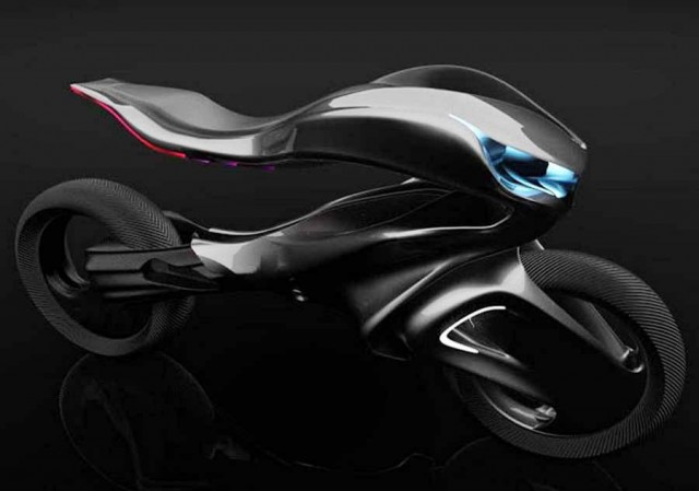 Mercedes One Class Revenge motorcycle