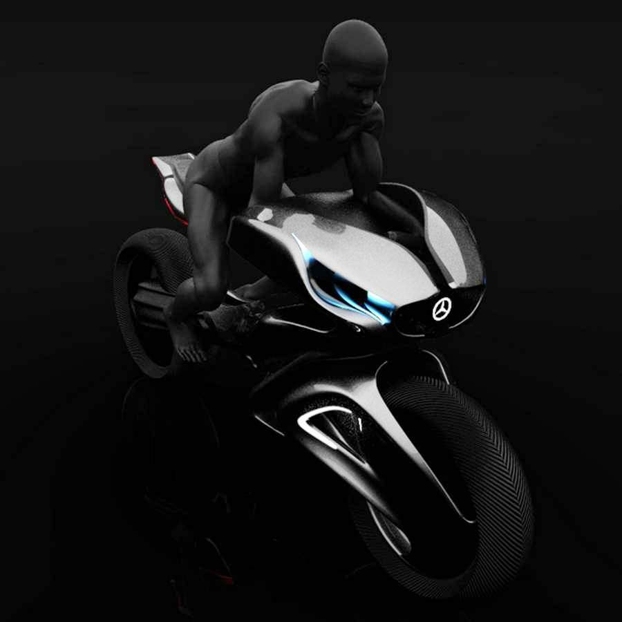 Wordlesstech mercedes one class revenge motorcycle for Mercedes benz motorcycle