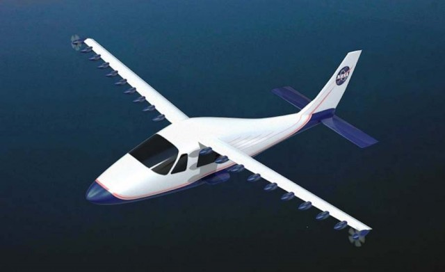LEAPTech Electric Plane by NASA