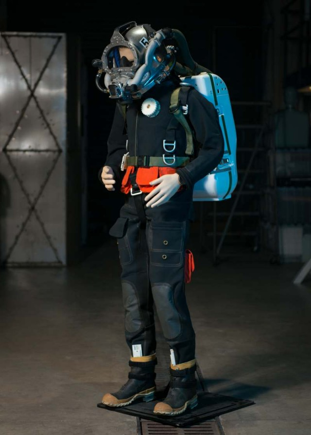 New diving suit by the US Navy