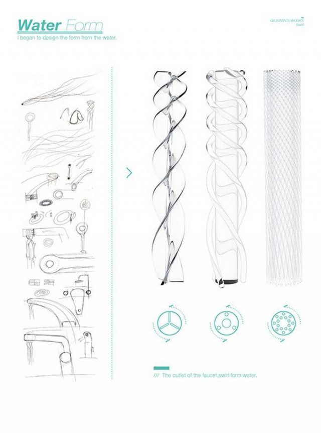Conservation-friendly Swirl faucet (2)