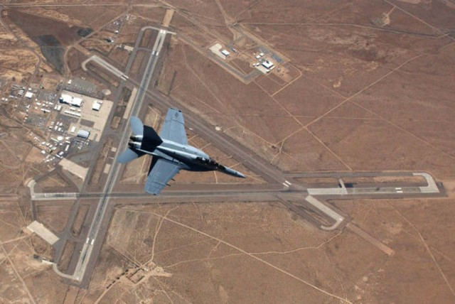 F-18 from above