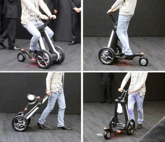 Electric Transforming Scooter
