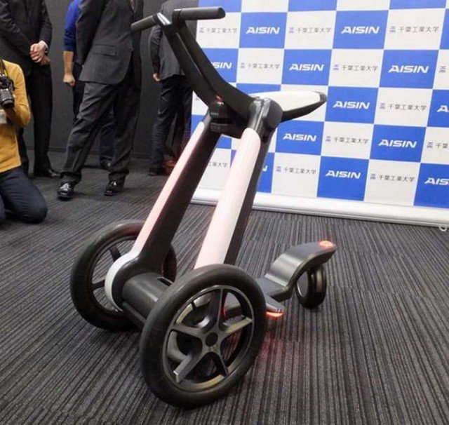 Electric Transforming Scooter  2