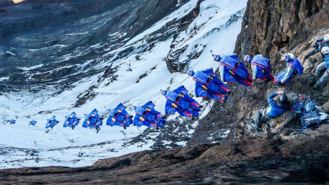Wingsuit Flight from Mt. Kilimanjaro