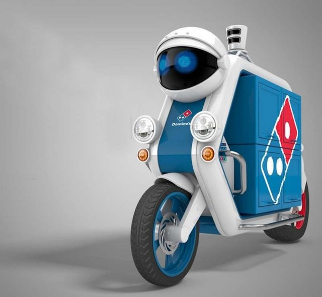 Domino's Driverless Delivery Vehicle (1)
