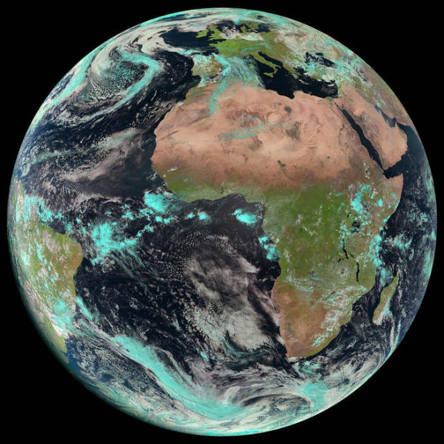 Image of Earth on Earth Day