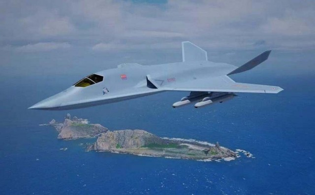 the new Chinese stealth fighter
