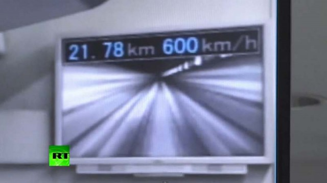 Japan's Maglev Train breaks its Own Record again and again