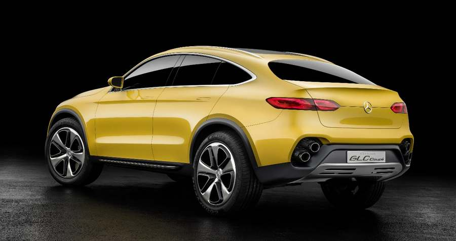 Wordlesstech mercedes benz glc coupe concept unveiled for Mercedes benz press release