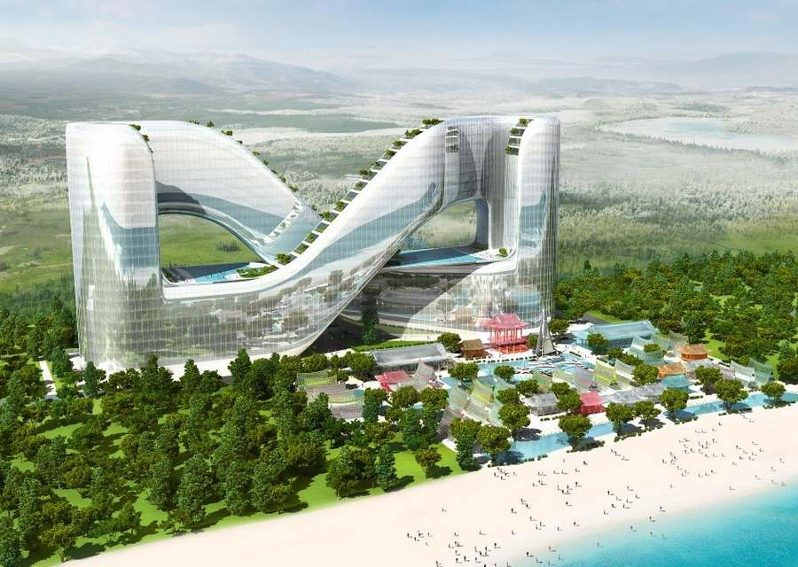 Wordlesstech resort hotel for pyeongchang 2018 winter for Garden design winter 2018
