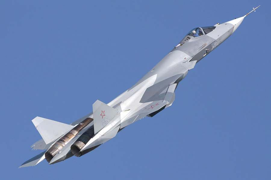 Russian next generation stealth fighter