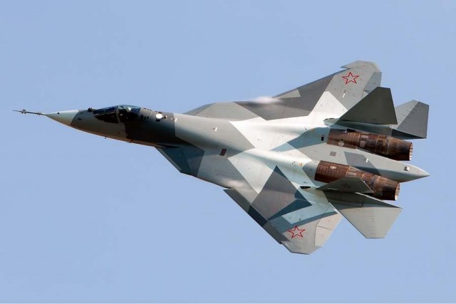 Russian next generation stealth fighter PAK-FA
