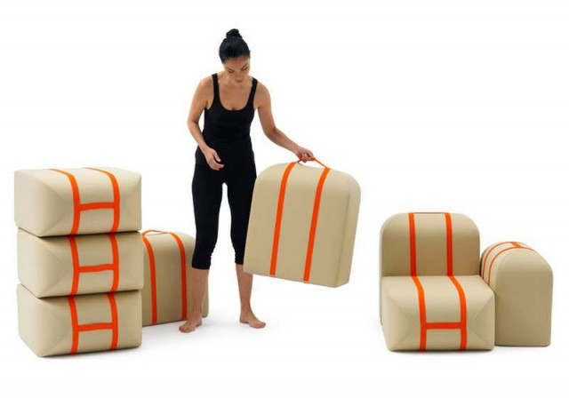 Self-made Seat sofa by Matali Crasset (3)