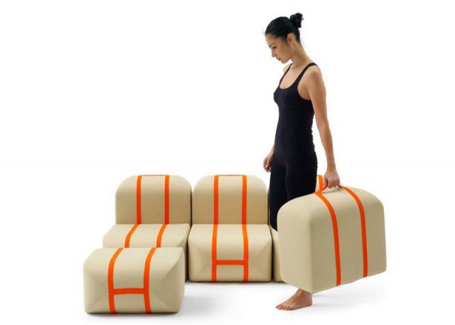 Self-made Seat sofa by Matali Crasset (2)