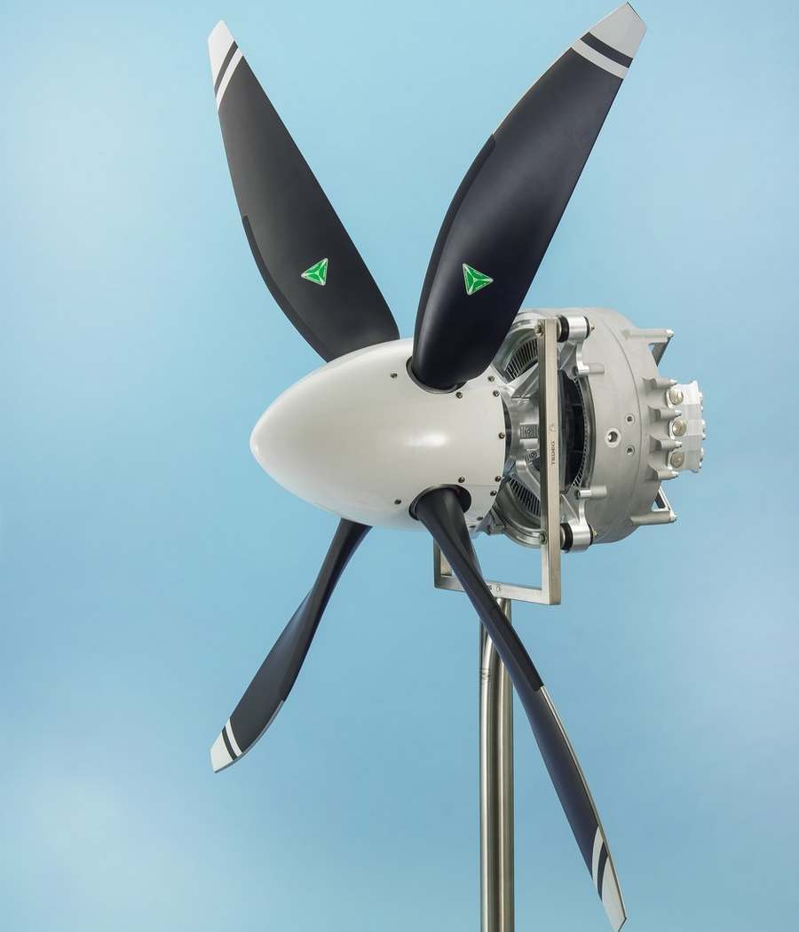 Wordlesstech Siemens Exceptional Electric Aircraft Motor